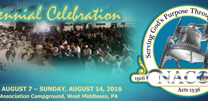 NACOG Centennial Celebration Live Streaming Worship Services